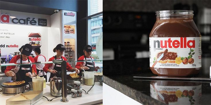 Sobeyshas openedthe first ever Nutella Cafe in Canada in Toronto.