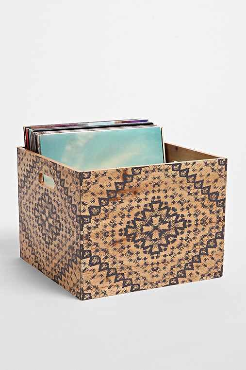 Magical Thinking Mandala Wood Storage Crate  - Urban Outfitters