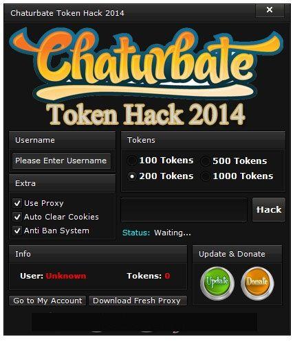 www.chaturbate token.com