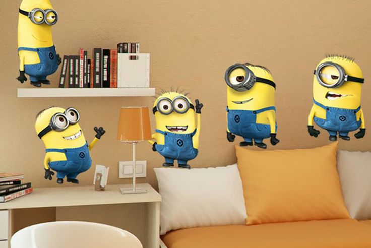 Got to Love the Minions Minion Wall Stickers (currently on Wowcher)