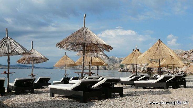 Plaża na camp Bunculuka Baska http://www.chorwacja24.info/zdjecie/plaza-na-camp-bunculuka-baska #chorwacja #krk #croatia