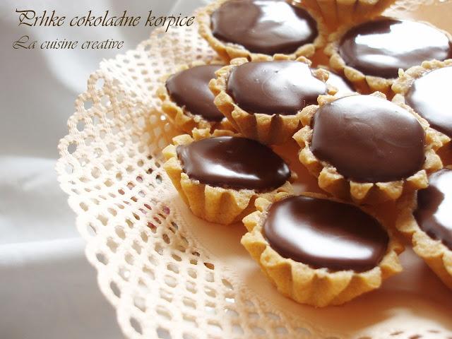 La cuisine creative: Prhke cokoladne korpice