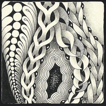 Tangles: Chainging, Crescent Moon, Elven, Flez, Fohbraid