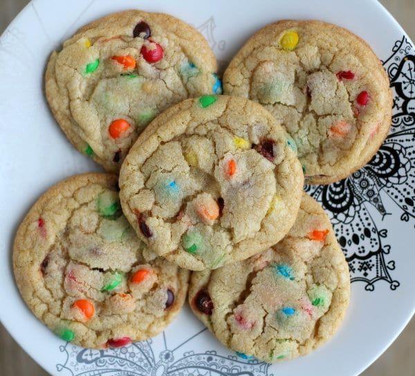 Rachel Cooks® Perfect M&M Cookies - Tried & True! - Rachel Cooks®
