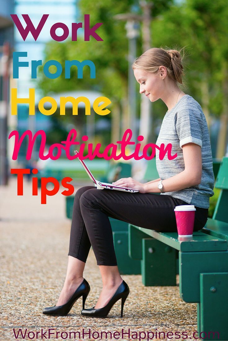 When you work from home, sometimes it can be difficult to get up and going. Try these tried and true motivation tips to put a little pep in your work from home step!