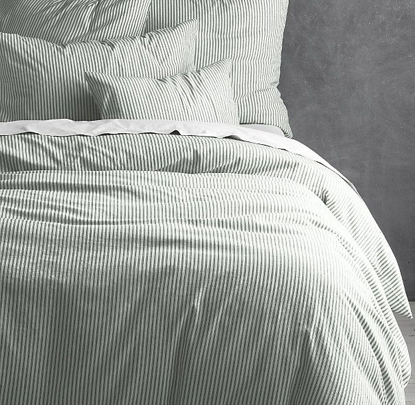 1000 Images About Ticking Stripe Duvet Cover On Pinterest