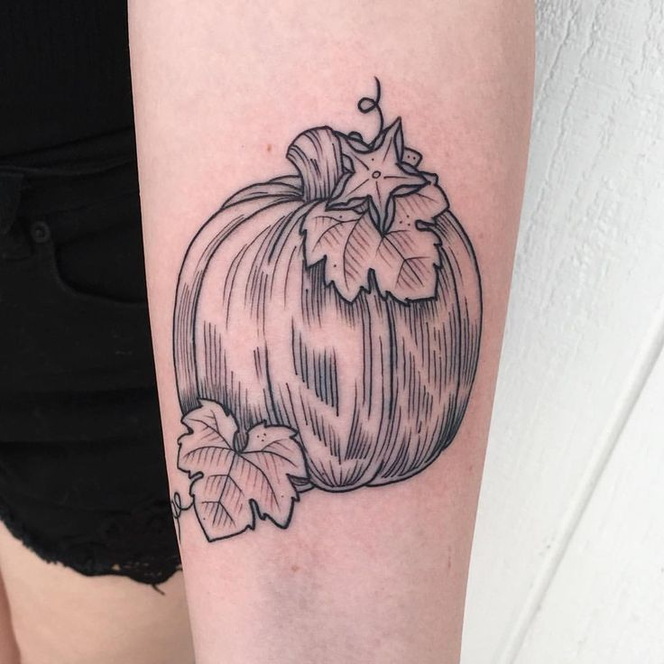 Pumpkins tattoo gasp my heart!!!