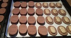 Domácí princezky - sušenky s kávovo krémovou náplní