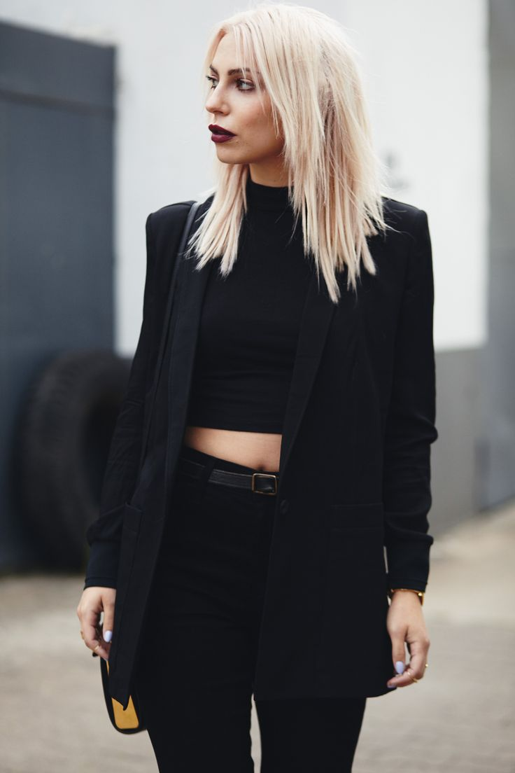 All black everything | outfit | street style | Berlin