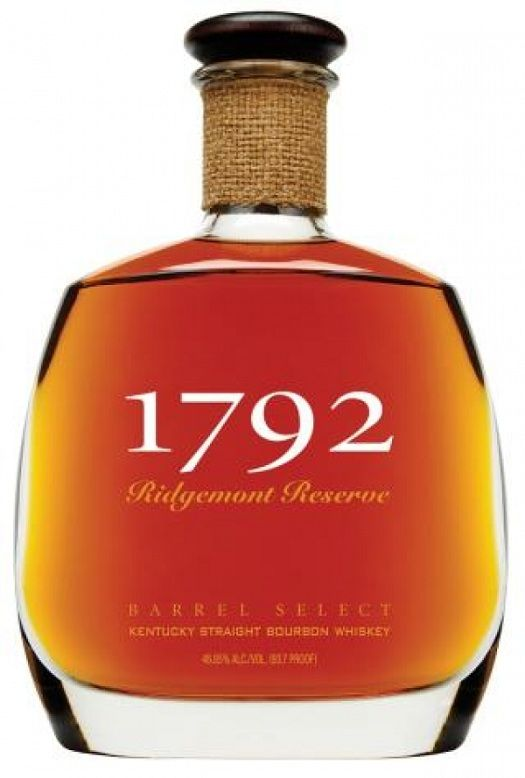 1792 Ridgemont Reserve bourbon (very sweet, honey, molasses, nuts, toasted wood. A good after dinner-dessert sipping bourbon)