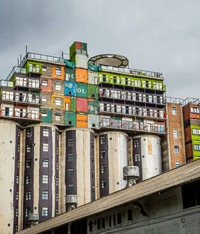 Cool Shipping Container Homes: Mill Junction Student Housing (Johannesburg, South Africa