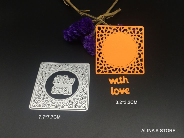 Cheap stencil plate, Buy Quality stencil cleaner directly from China stencil brush Suppliers: 	2pc wish letters with love wish square lace DIY steel stencil for Scrapbook Card design picture fra