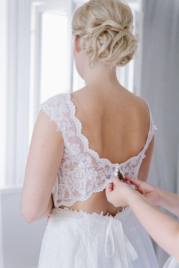 Bride to be. Wedding in Sweden