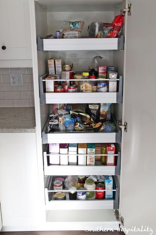 17 best ideas about ikea kitchen organization on pinterest - Ikea kitchen pantry ...