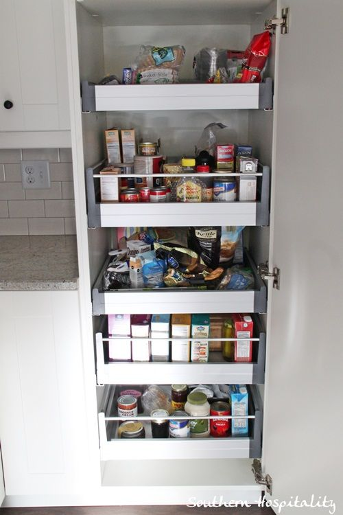 Ikea Kitchen Renovation Cost breakdown | Southern Hospitality--Ikea pantry