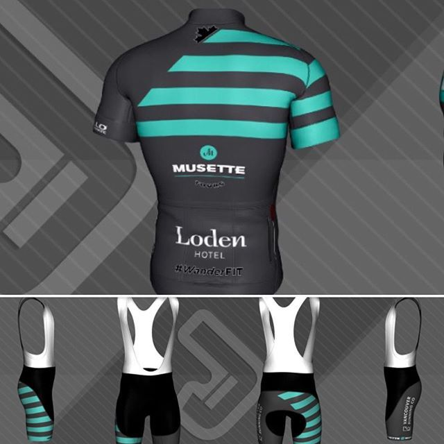 @musettetours for more news! #wanderfit #wanderfitvan #cyclingkit #fitness…