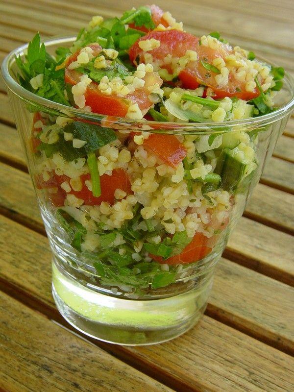 Taboulé Libannais salades composees cuisine du moyen orient
