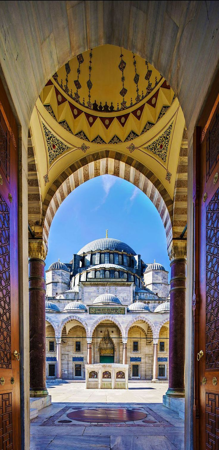 The Sultan Ahmed Mosque, Istambul, Turkey
