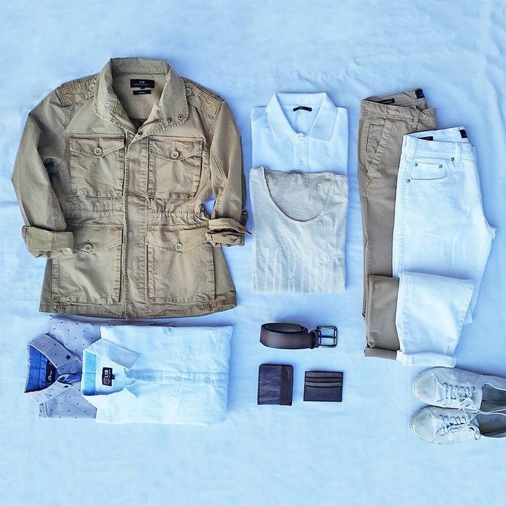 Beyaz ve Toprak tonlarının uyumu. #ltb #ltbjeans #stylish #jeans #style #white #whitedenim #safari#men #photooftheday  #instagood #happy #design #model #picoftheday
