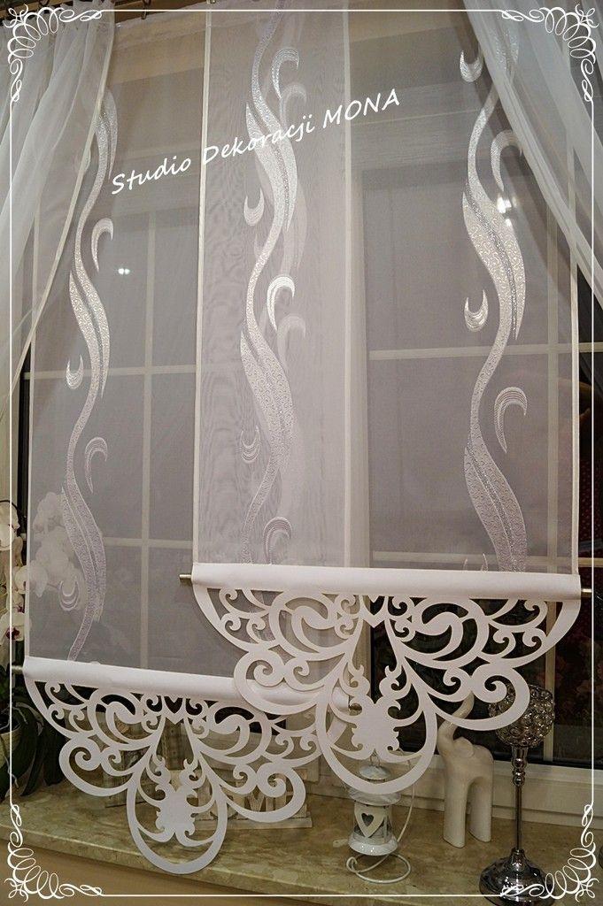 Komplet Azur White Azurowe Ekran Panel Woal Gotowa 6472486014 Allegro Pl W Curtain Designs For Bedroom Living Room Decor Curtains Kitchen Curtain Designs