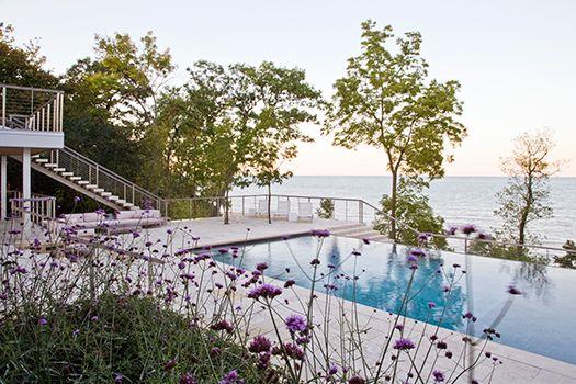 Modern lakefront chicago residential hoerr schaudt for Hoerr schaudt landscape architects