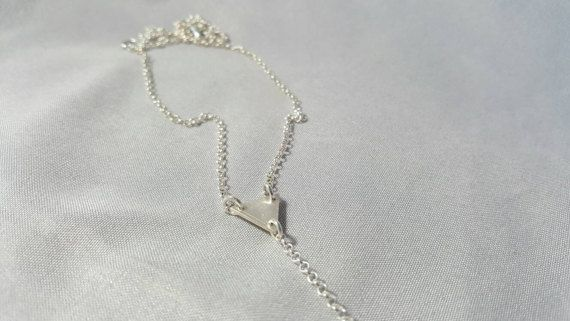 Check out this item in my Etsy shop https://www.etsy.com/ca/listing/460416886/sterling-silver-layering-necklace-v-neck