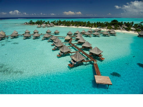i want to stay in one of these bungalow's in bora bora before i die