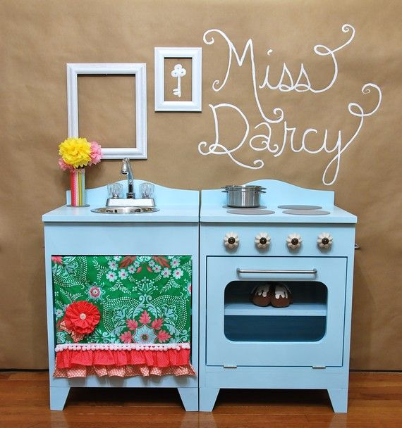 251 Best Images About Play Kitchens And Fake Food On Pinterest