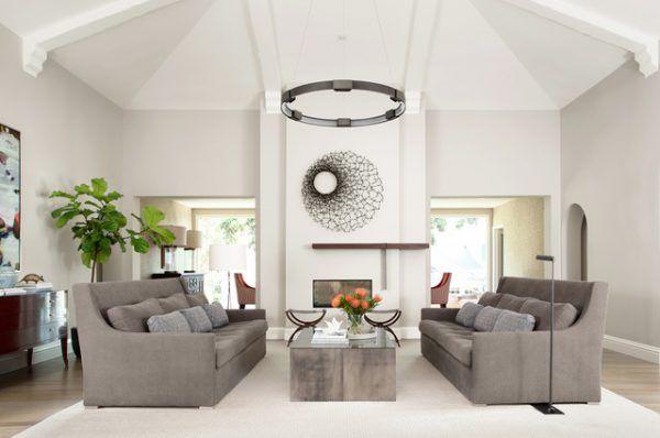 Moderne Wohnzimmer 2018 Komfortable Und Freundliche