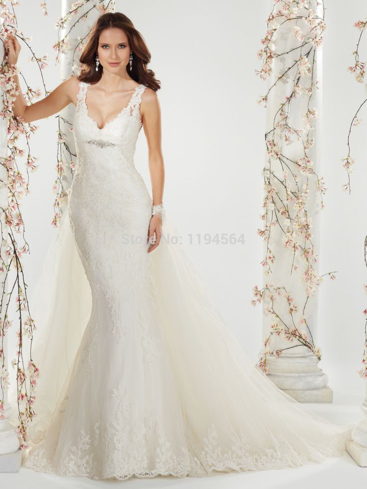 9015 best wedding dresses images on pinterest wedding dressses click to buy mermaid 2014 bridal gowns designer lace wedding dresses v junglespirit Image collections