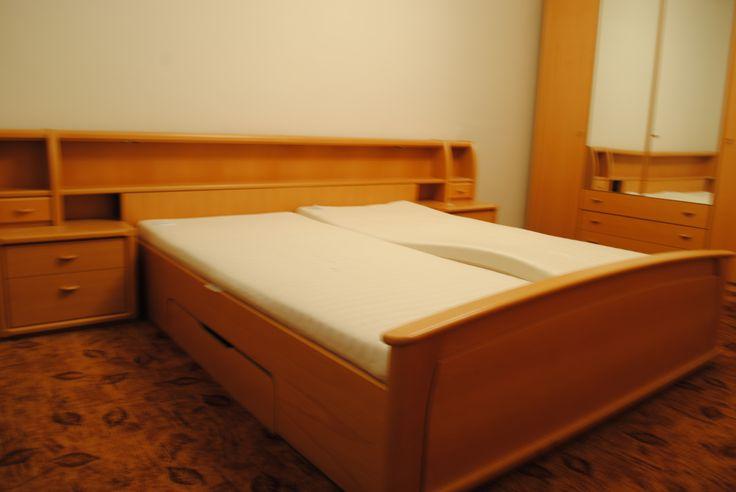 Ložnice před využitím služby Home Staging