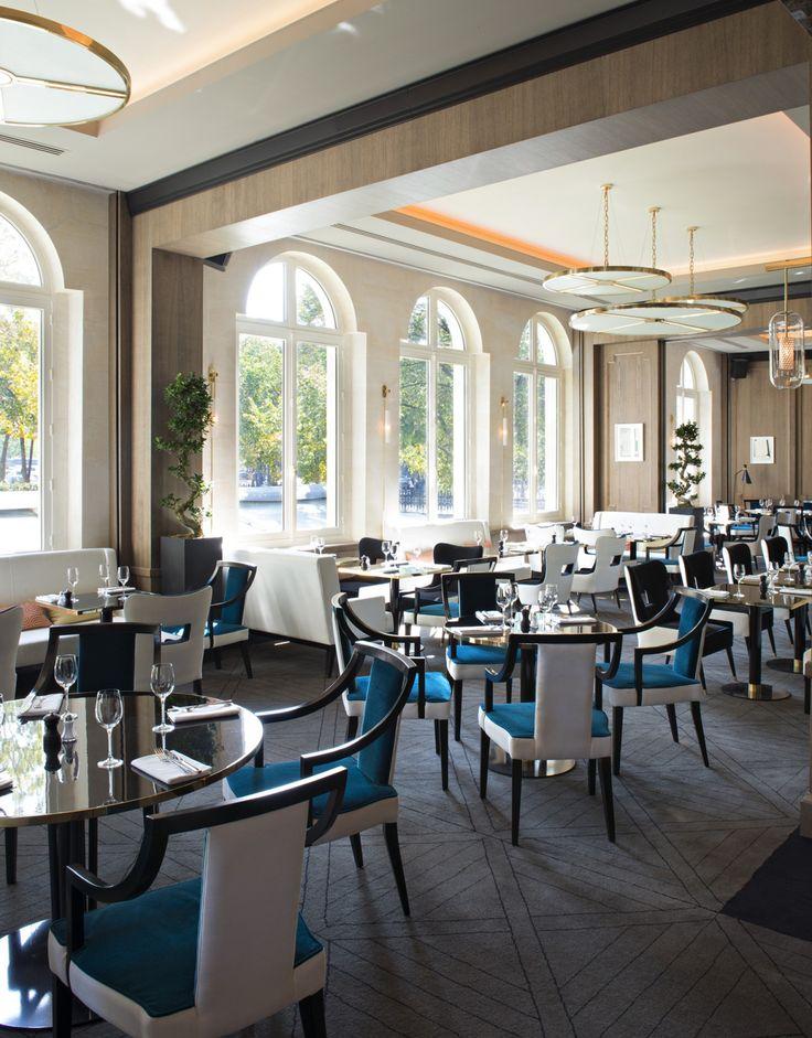 Victoria 1836 restaurant near Arc de Triomphe