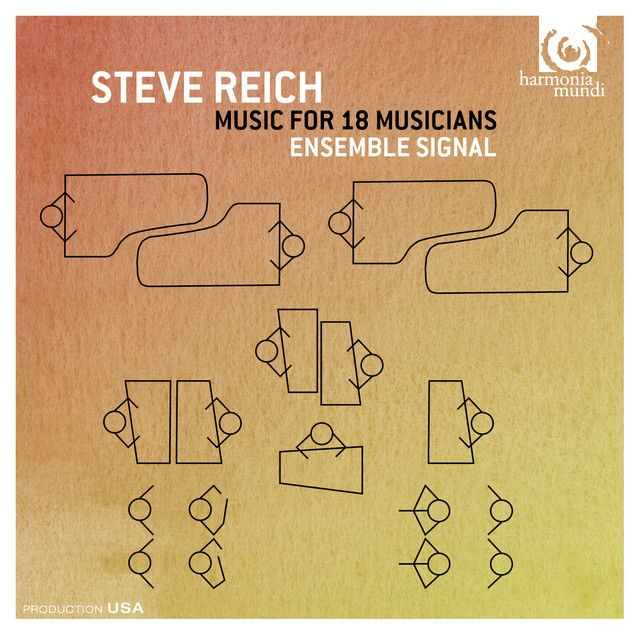 Saved on Spotify: Music for 18 Musicians (modular version): Section I by Steve Reich Ensemble Signal