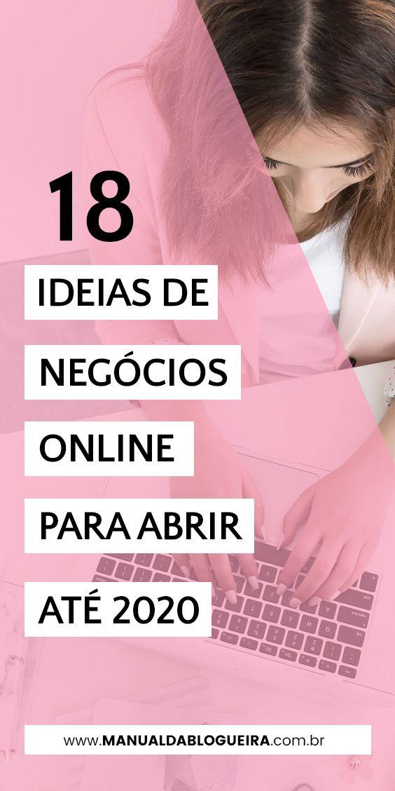 18 ideias de negócios online para abrir até 2020