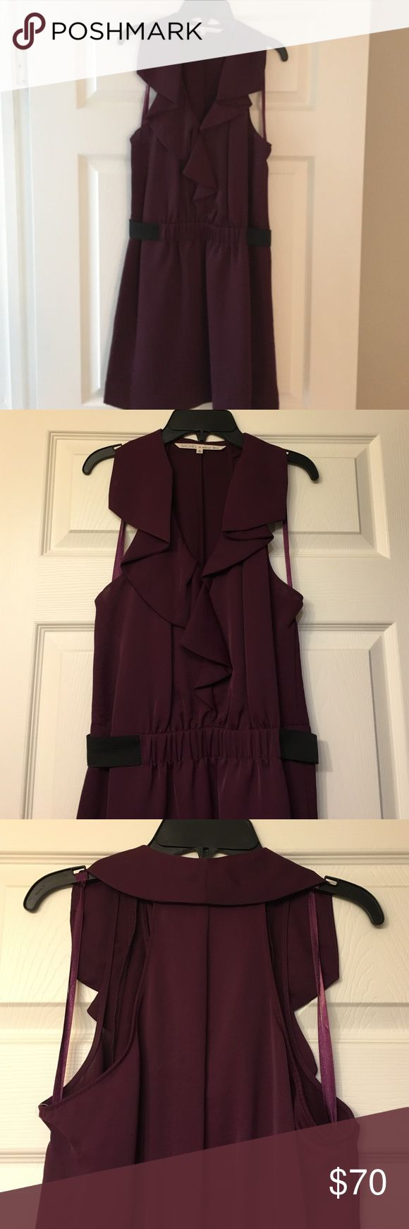 RACHEL Rachel Roy Dress NWT Wine colored Rachel Roy dress. Never worn. RACHEL Rachel Roy Dresses