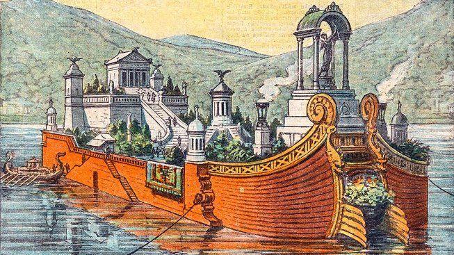 Hon na vrak Caligulova plovoucího paláce