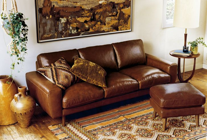 MOLN(モルン) レザーソファ 3シーター | ≪unico≫オンラインショップ:家具/インテリア/ソファ/ラグ等の販売。