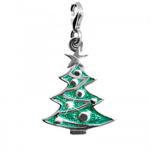 christmas tree charms, ledile, шармы, ручная работа, елочка, handmade charms, sterling silver