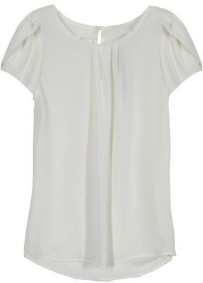 Papermoon Bastille Tulip Sleeve Blouse Stylist....I love this! (Love the ivory color too)