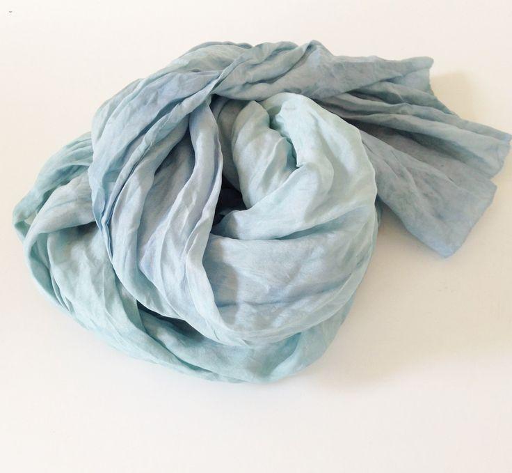 Silk scarf, hand dyed, beautiful  #silkscarf #morphingpot