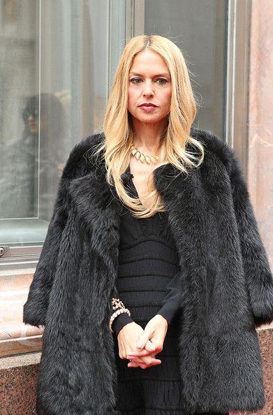 Rachel Zoe Unveils the Elizabeth Taylor Fleur de Mer Brooch Tiffany & Co. Fifth Avenue February 16, 2012 in New York City