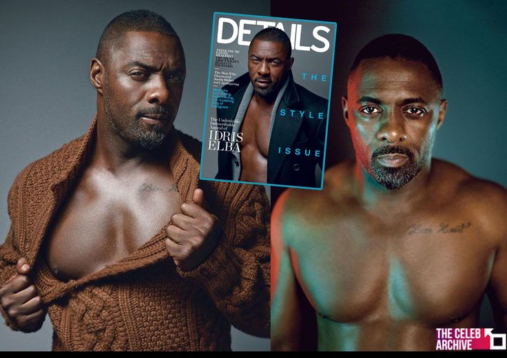 Shirtless Idris Elba Sizzles in Details Magazine. Inside the mag, Elba talks about his previous movie roles, turning down other roles, moving back to London and even touches on his venture into deejaying and rapping.   Pictures > http://www.thecelebarchive.net/ca/gallery.asp?folder=/idris%20elba/&c=1