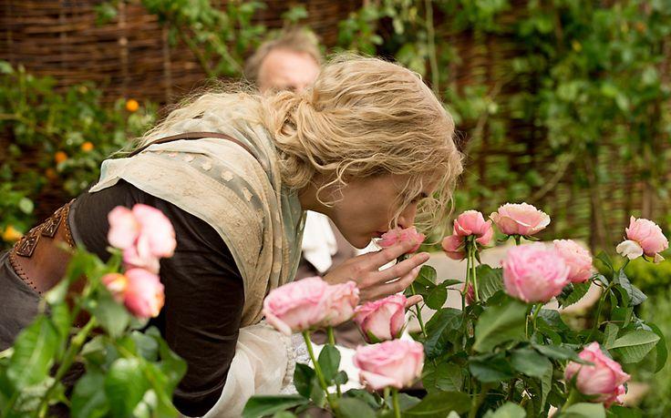 A Little Chaos (2014) - Kate Winslet as Sabine De Barra #CostumeDesign Joan Bergin Wonderful movie.  Kate Winslet always delivers a powerful performance.