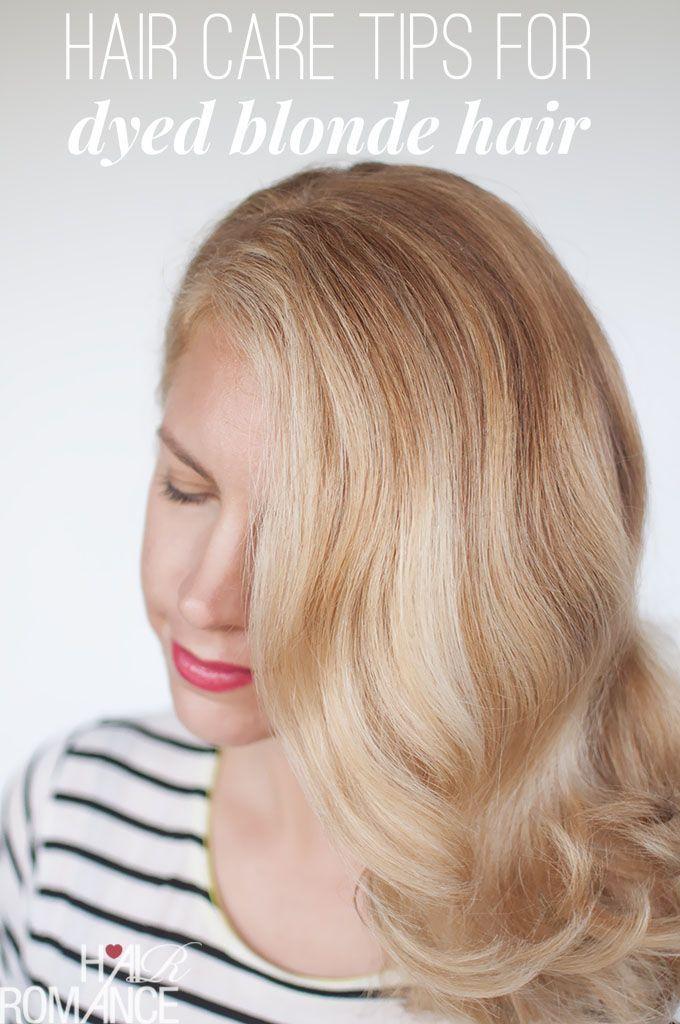 Reader Frage Einfache Haarpflege Tipps Fur Gefarbtes Blondes