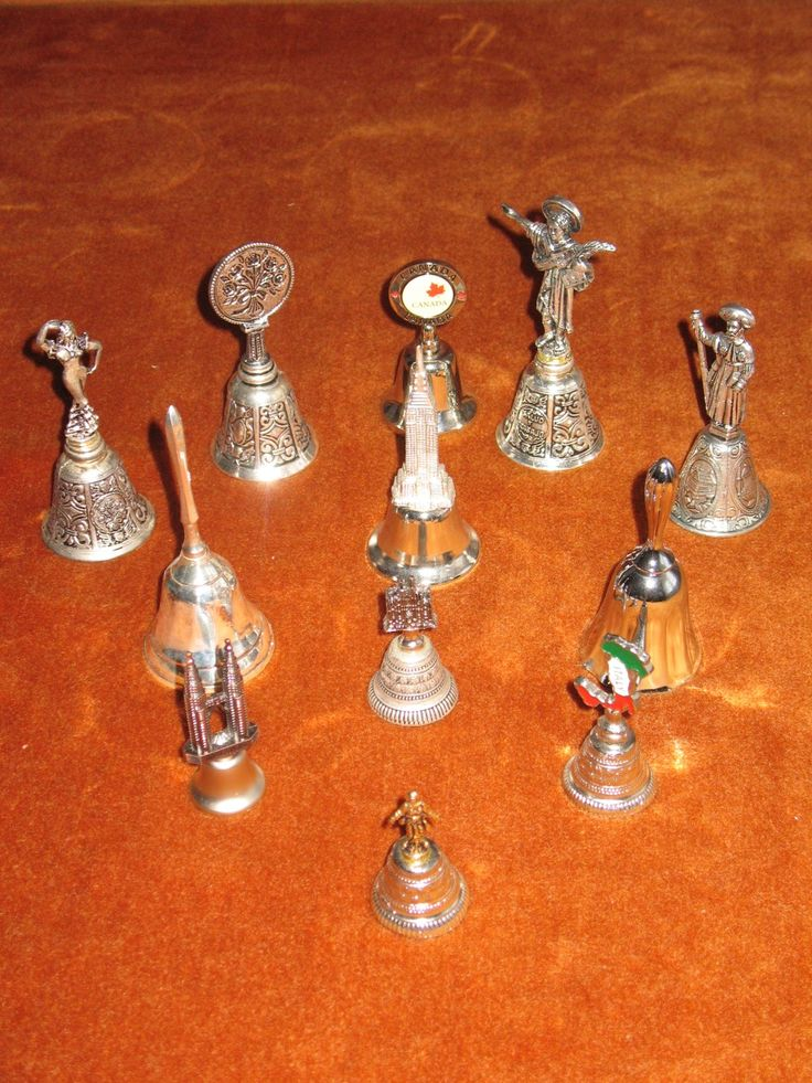 Silvered bells