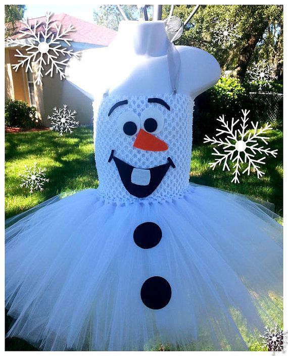 You will receive one Olaf tutu dress like pictured above. Our tutus are very full and are made with 100+ yds of tulle! These are made to order