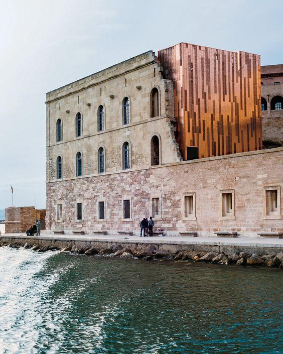 T FALL TRAVEL - T Magazine The Secret Capital of France Historic Fort Saint-Jean, built in the 17th-century by Louis XIV and recently renovated by the architect Roland Carta, is now part of the Museum of European and Mediterranean Civilizations.: