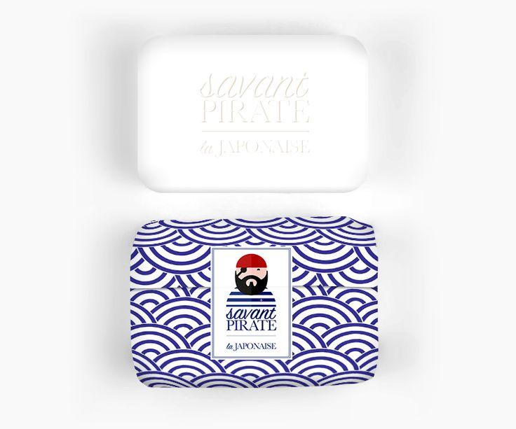 Savant Pirate Savon Packaging