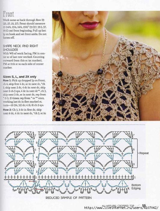 172 best Tejidos images on Pinterest | Knitting patterns, Knitting ...