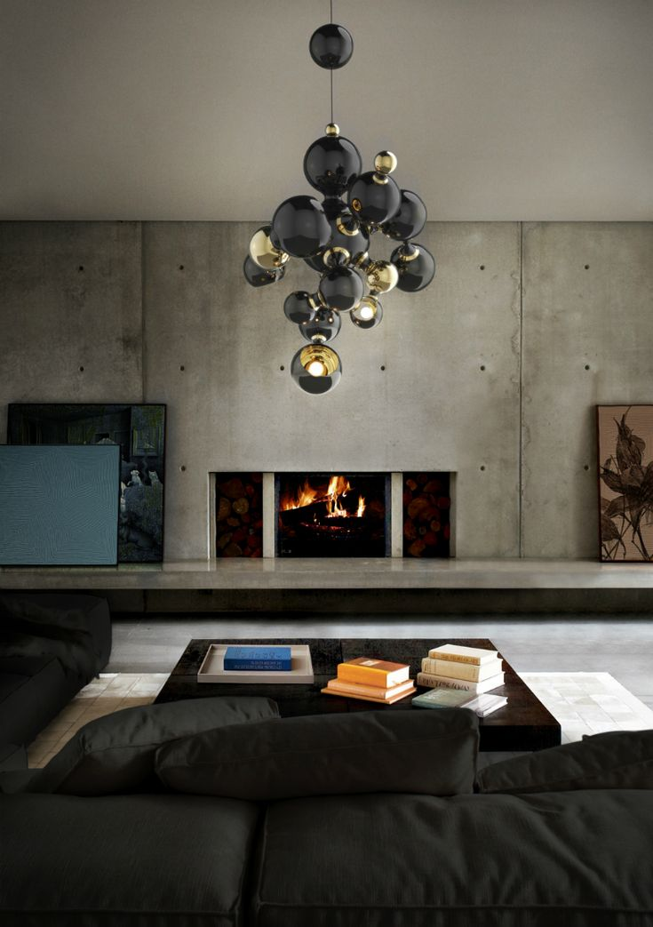 living room track lighting%0A Iconic Modern Suspension Lamps to Use in Your Living Room